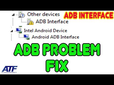 ANDROID ADB INTERFACE PROBLEM FIX