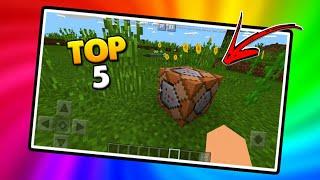 5 Melhores comandos usando Command Block para Minecraft PE 1.3!