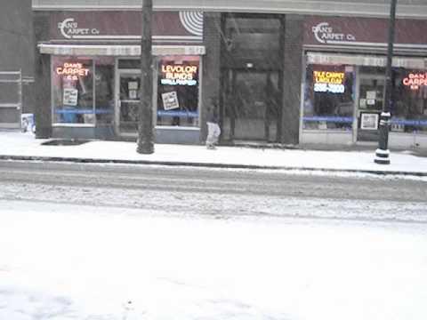 Snow in New Rochelle Dec 26, 2010