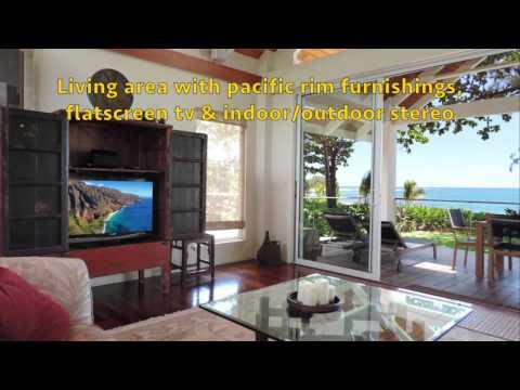 Kauai Beachfront Luxury Vacation Home in Haena