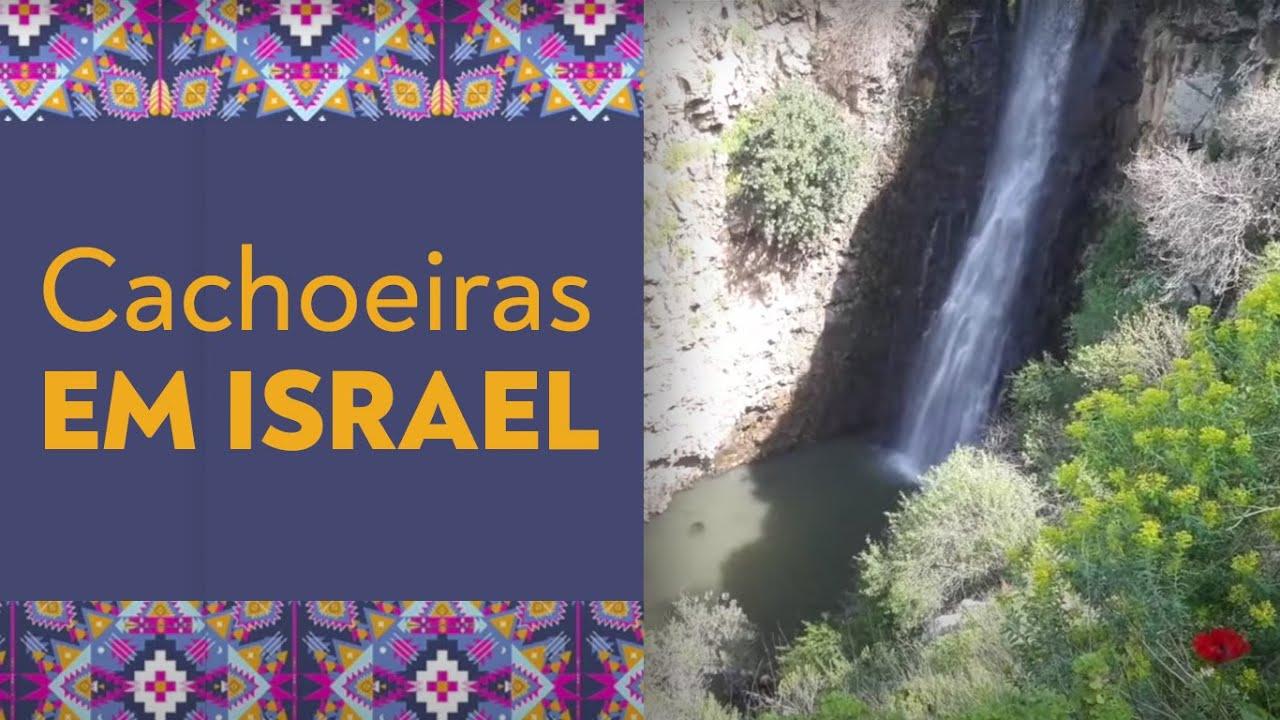 Norte de Israel, Cachoeiras e Restaurantes!