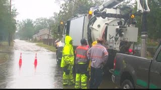 Crews Clean Up in Darlington