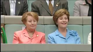 George W Bush Speech to the Australian Parliament - 23/10/2003