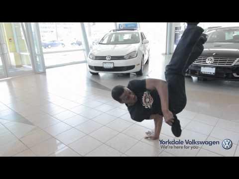 Bboy Troublez Checks Out The Volkswagen Beetle