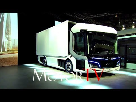 IAA COMMERCIAL VEHICLES 2018 l MAN CitE UNVEILING l MAN Truck and Bus / Scania