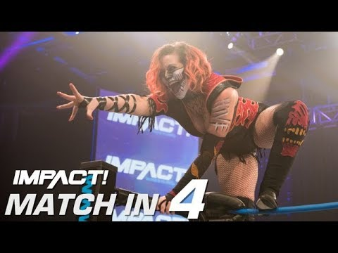 Hania vs. Amber Nova and Rosemary Attacks: Match in 4 | IMPACT! Highlights Feb. 8th 2018