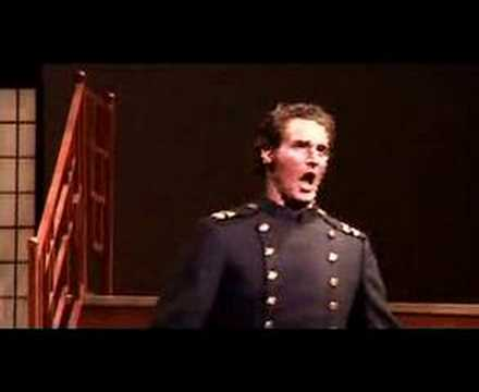 """James Valenti Sings""""Addio Fiorito Asil""""from Madama Butterfly"""