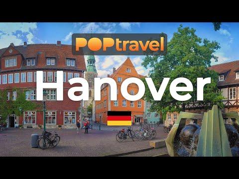 Walking in HANOVER / Germany 🇩🇪- 4K 60fps (UHD)