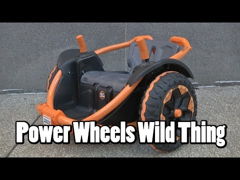 Power Wheels Wild Things From Fisher-Price