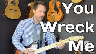 You Wreck Me - Tom Petty - How To Play - Beginner Guitar Lesson