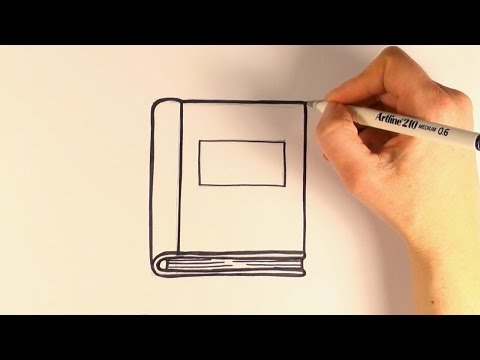 How To Draw Cartoon Book