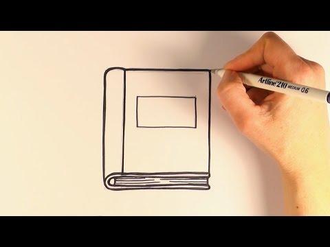 How to Draw a Cartoon Book