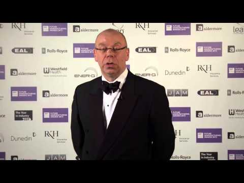Andrew Hodgson, Soil Machine Dynamics Ltd (SMD)  EEF National Manufacturing Champion 2013