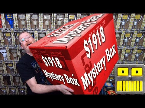 Mega Epic $1918 Funko Pop Mystery Box Star Wars DC Bombshells Statues Collection