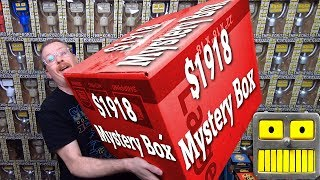 Mega Epic $1918 Funko Pop Mystery Box (Star Wars DC Bombshells Statues Collection)