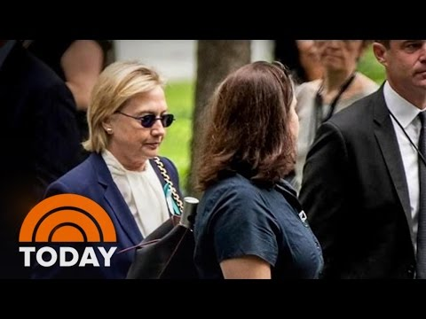 Hillary Clinton Cancels Trip After Nearly Collapsing Due To Pneumonia   TODAY