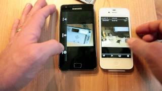 iPhone 4s vs Galaxy S II camera quality test
