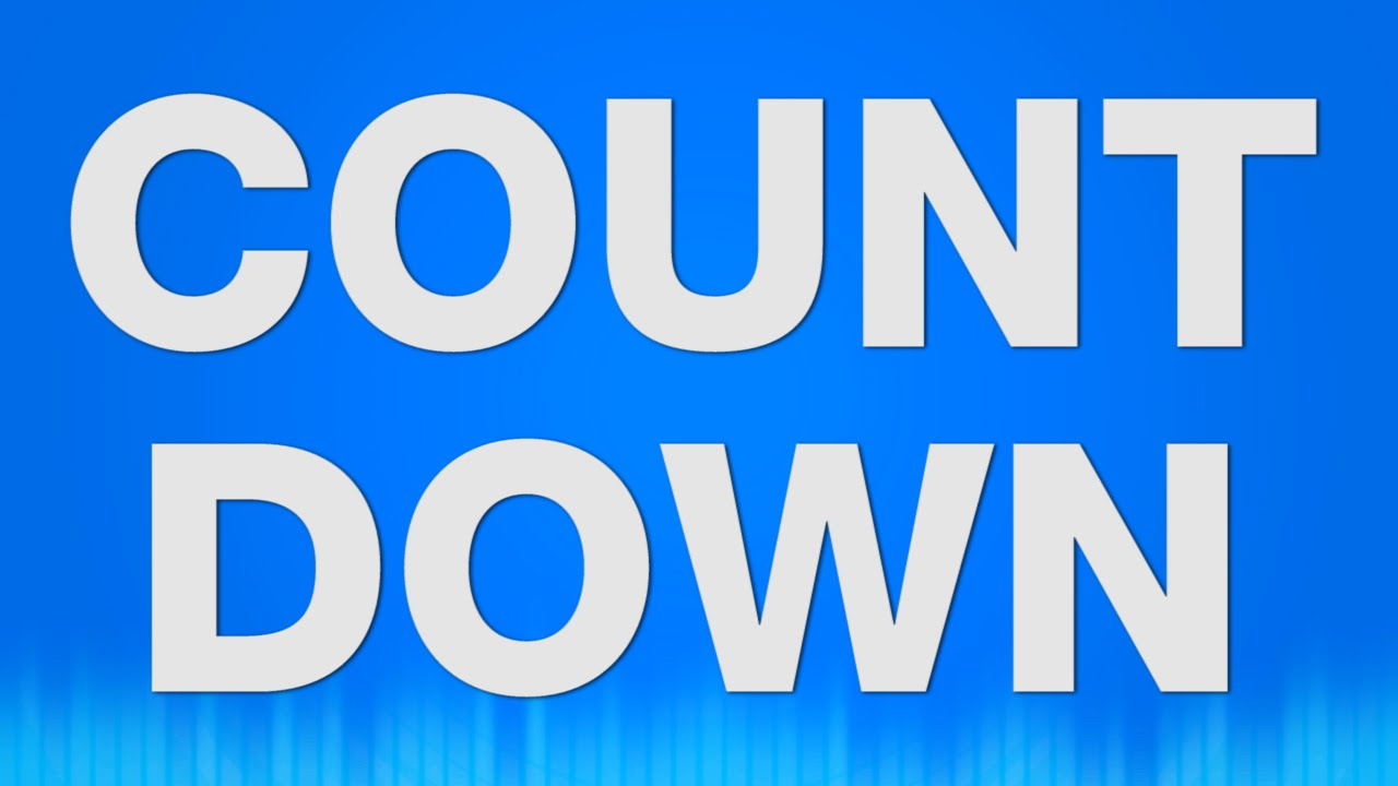 Countdown SOUND EFFECT - 10 9 8 7 6 5 4 3 2 1 SOUNDS