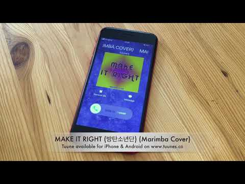 make-it-right-(방탄소년단)-ringtone---bts-tribute-marimba-cover-ringtone---iphone-&-android-kpop