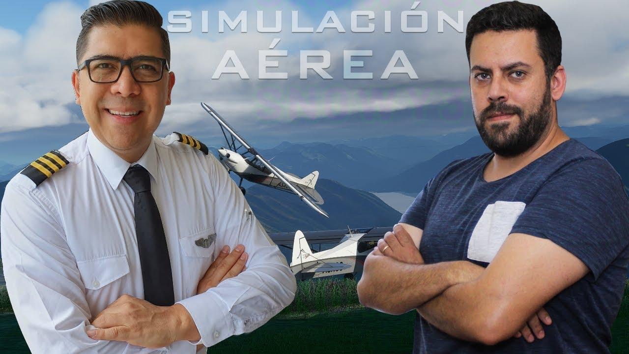 SIMULACIÓN AÉREA con Capi Leyton PASADO, PRESENTE Y FUTURO
