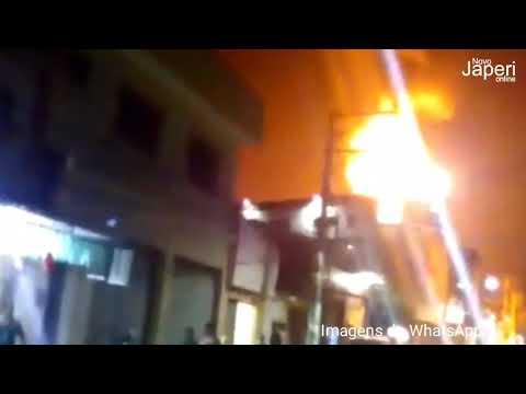 Reportagem mostra detalhes do incêndio em posto de gasolina de Japeri