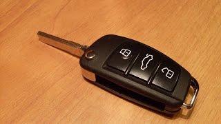 Выкидной ключ для Ауди и 2 чехла для Lenovo S90