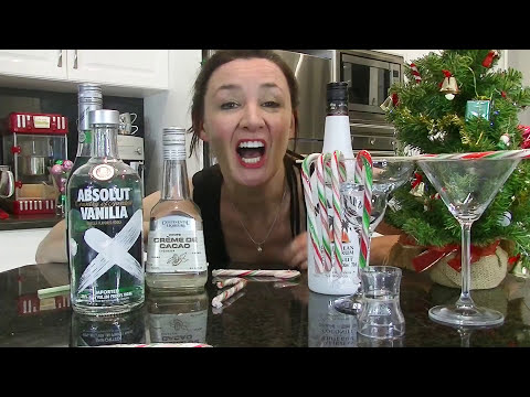 Christmas Cocktail Recipes Candy Cane and...