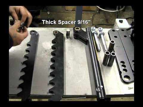 JD Squared Model 32 Bender Assembly Part 1 of 2 - YouTube