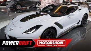 2020 Chevrolet Corvette ZR1 : Exotic muncher : 2018 LA Auto Show : PowerDrift