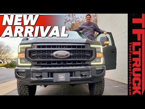 Ford Just Dropped Off The New TREMOR - The Biggest And Baddest Off-Road F-250!