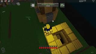 CREEPER RAID IN MINECRAFT ROBLOX!!!