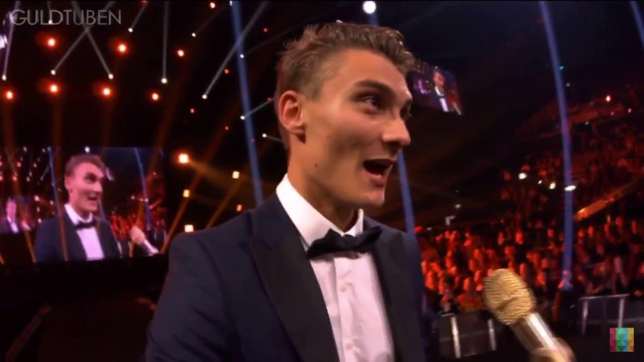 Alexander Husum vinder årets youtuber | guldtuben 2017