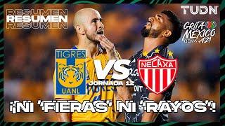 Resumen   Tigres vs Necaxa   Grita México BBVA AP2021 - J12   TUDN