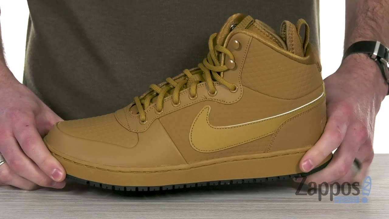 79ad71b0b4 Nike Ebernon Mid Winter SKU: 9094782 - YouTube