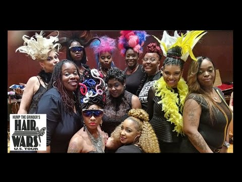 Detroit Hair Wars 2017 - Alta Moda Salon Fantasy Hair Showcase
