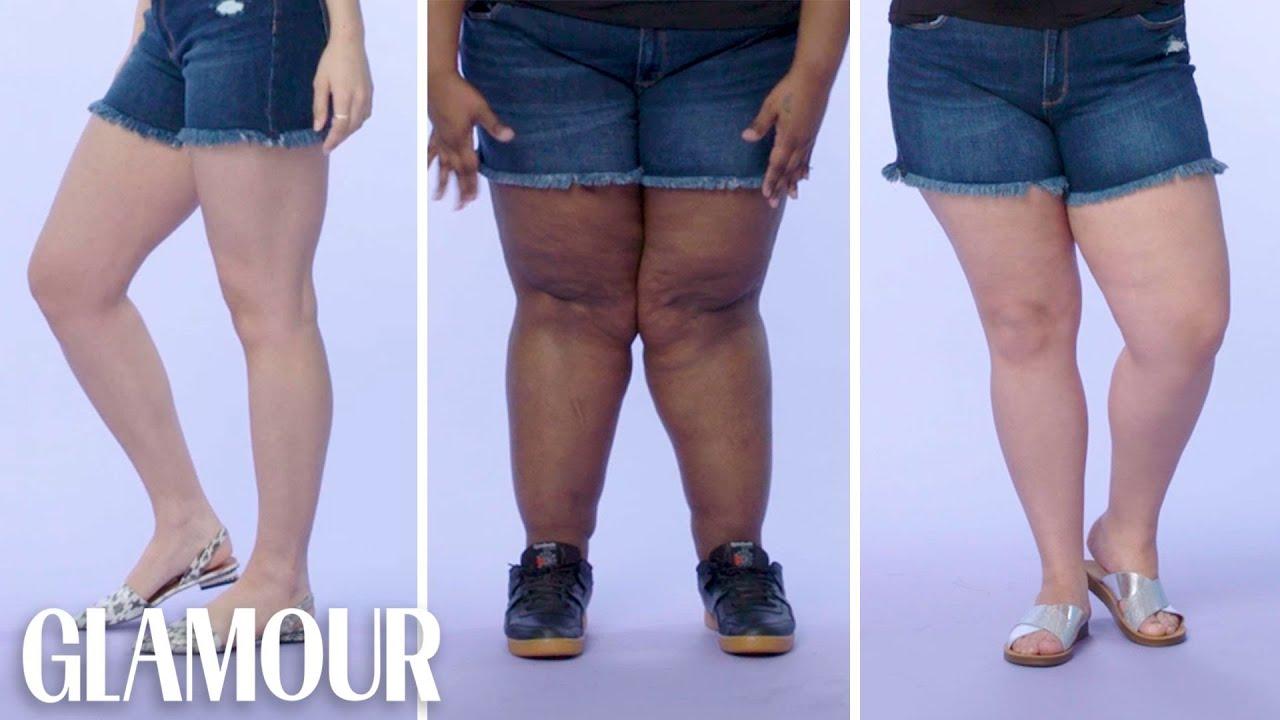 Women Sizes 0 Through 26 on Showing Their Legs | Glamour