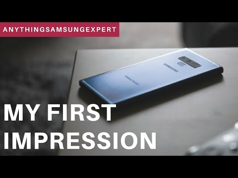 Samsung Galaxy Note 9: First Impression in 24 hours
