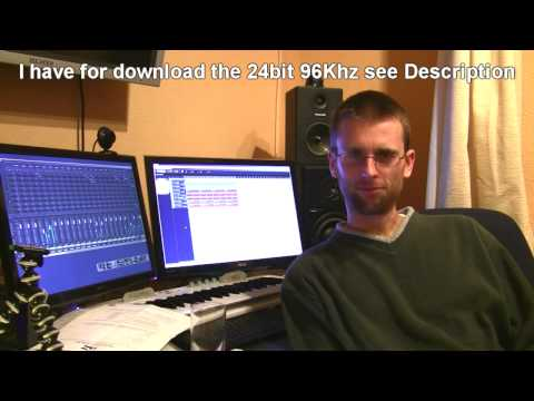 Mp3 Quality bit rate   Demoed 20Kbps mp3  24bit 96k Wav compare
