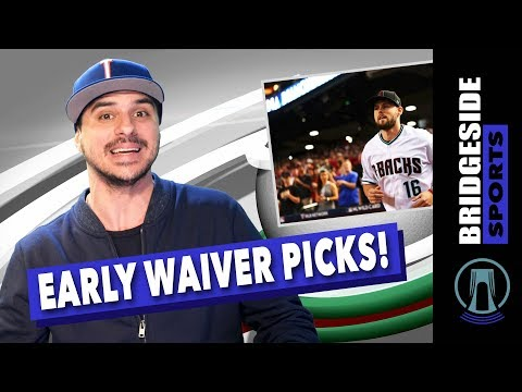 Fantasy Baseball 2018: Waiver Pickups of the Week | Fantasy Rundown with The Analyst