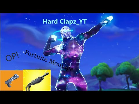 My First Video/ Fortnite Montage/ Hard Clapz