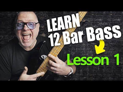 12 Bar Blues Bass by Scott Whitley