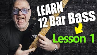 12 Bar Blues Bass by Scott Whitley - Lesson 1 - 12 Bar Overview