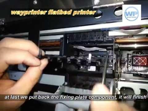 R230 R220 Epson Print Head Changing Video Youtube