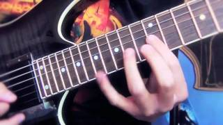 Judas Priest the hellion electric eye Guitar Cover 01.mov