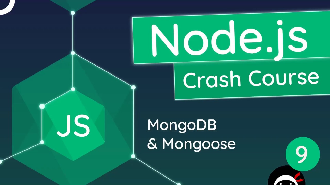 Node.js Crash Course Tutorial #9 - MongoDB