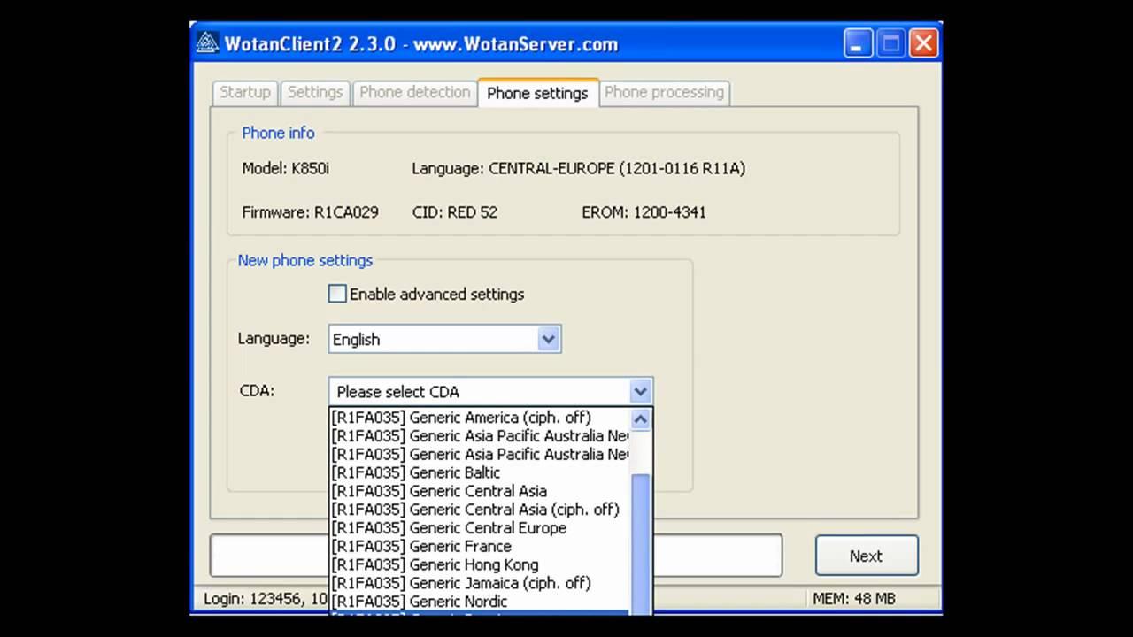 k850i firmware r1fa035