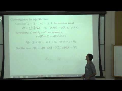 Pietro Caputo at Technion - Mathematics lecture 1