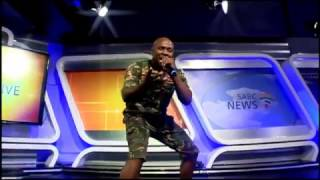 Dr Malinga gets Morning Live dancing