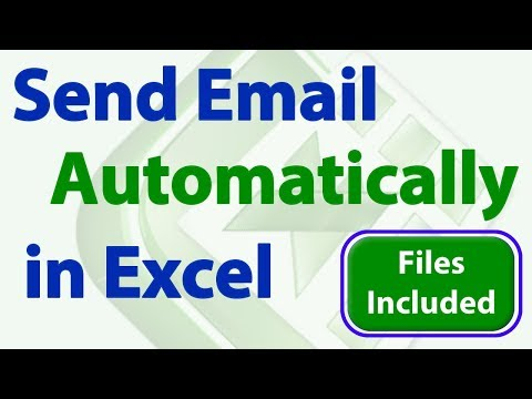 Send Emails From Excel - Automatically And Manually (Macro & Non-Macro Solution)