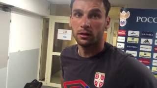 Сербия-Россия. Иванович говорит по-русски | Чемпионат | Евро16
